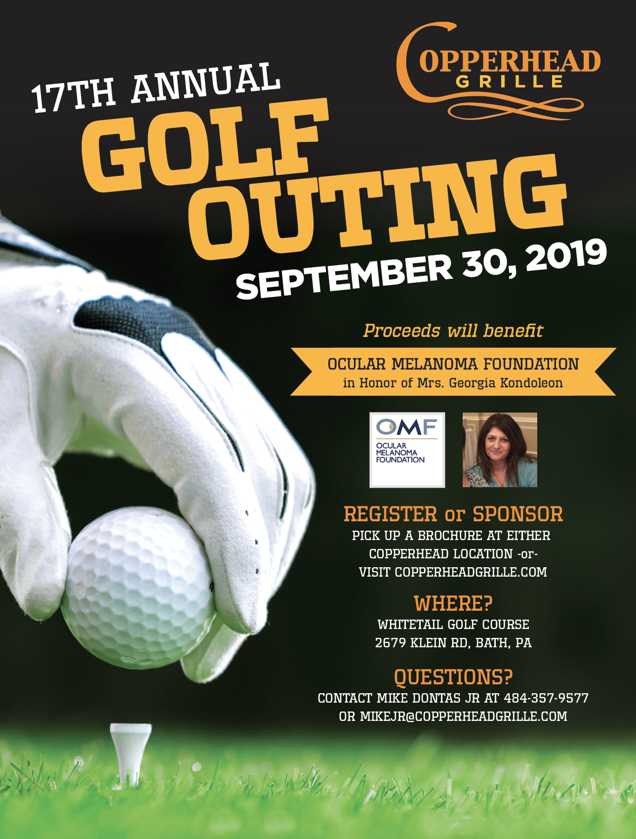 Copperhead grille golf outing